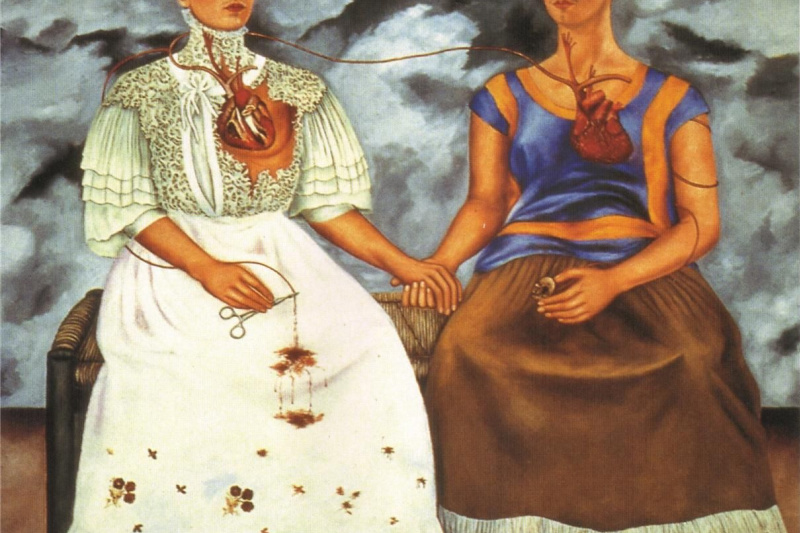 Frida Kahlo. Two Fridas