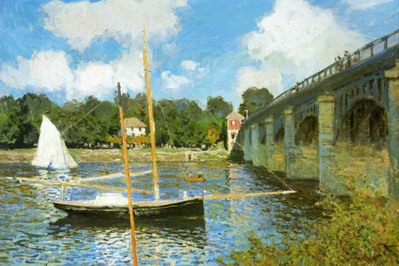 Claude Monet. The bridge at Argenteuil