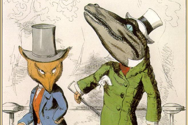 Charles Bennett. The Fox and the crocodile