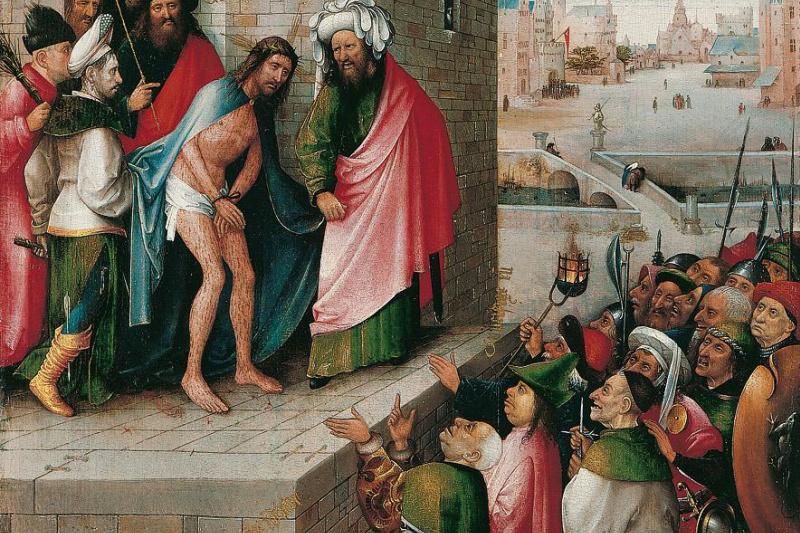 Hieronymus Bosch. Behold The Man (Ecce Homo)
