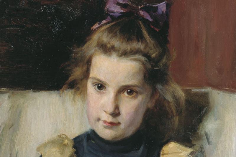 Vasily Evmen'evich Savinsky. Portrait Of Tatyana Savinsky