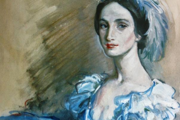 Zinaida Serebryakova. Portrait of a ballerina
