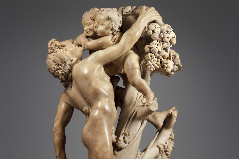 Gian Lorenzo Bernini. Bacchanal: A Faun Teased by Children