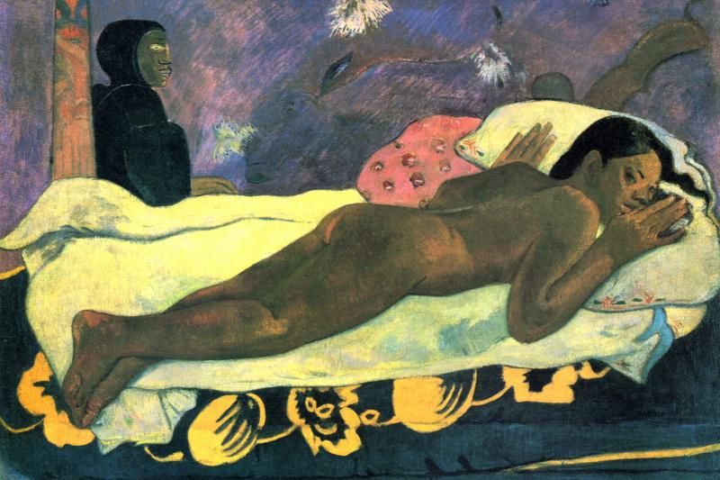 Paul Gauguin. The spirit of the dead does not sleep