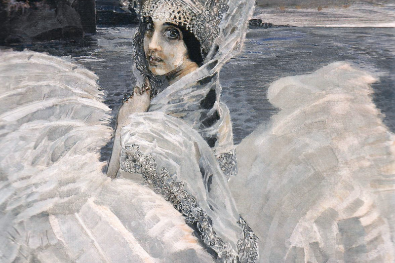 Mikhail Vrubel. The Swan Princess