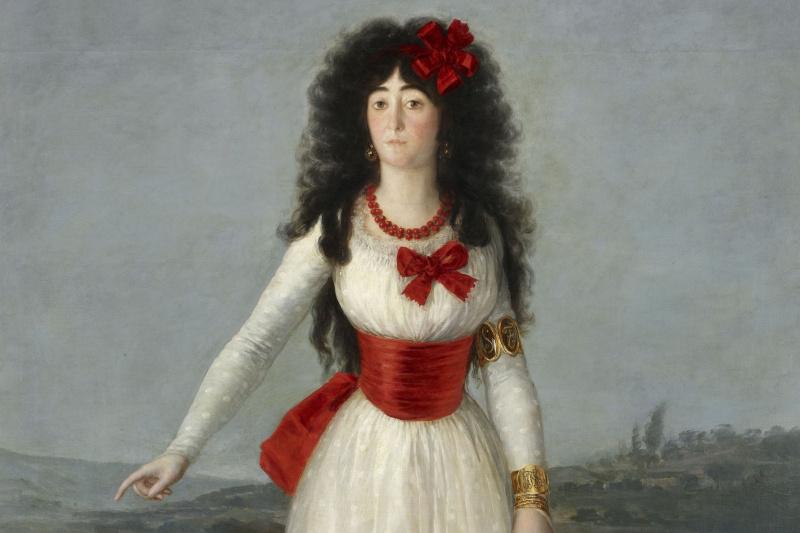 Francisco Goya. Portrait of Maria Teresa Cayetana de Silva, Duchess of Alba