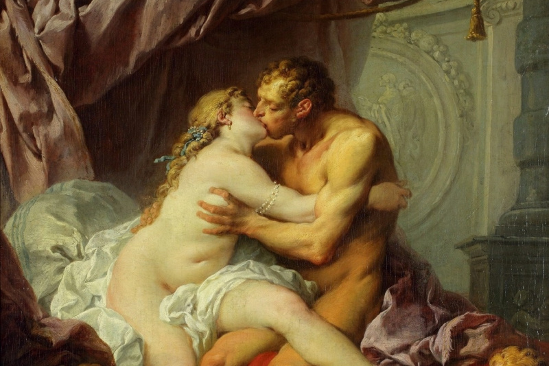 Francois Boucher. Hercules and Omphale