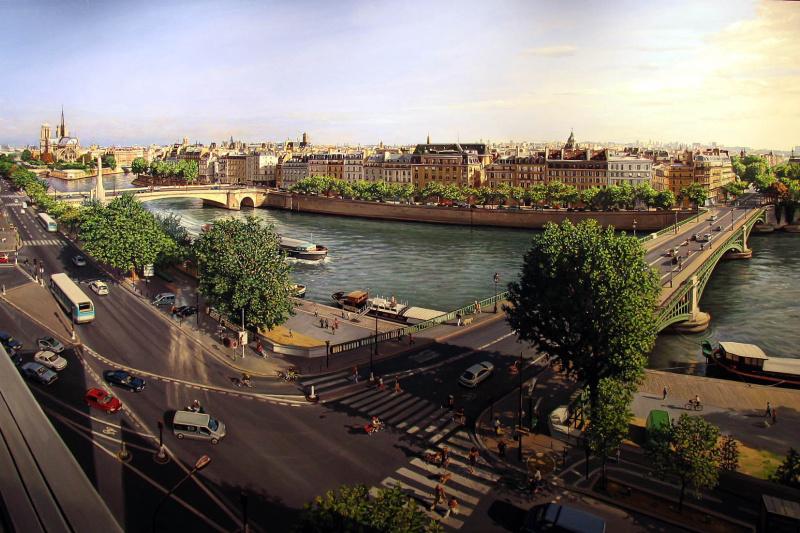 Роберт Неффсон. Мосты в Париже