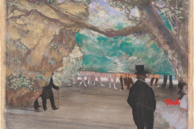 Edgar Degas. Curtain