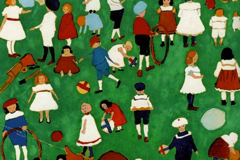 Kazimir Malevich. Children