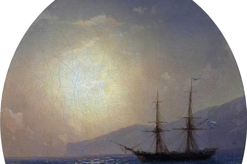 Ivan Constantinovich Aivazovski. Sea