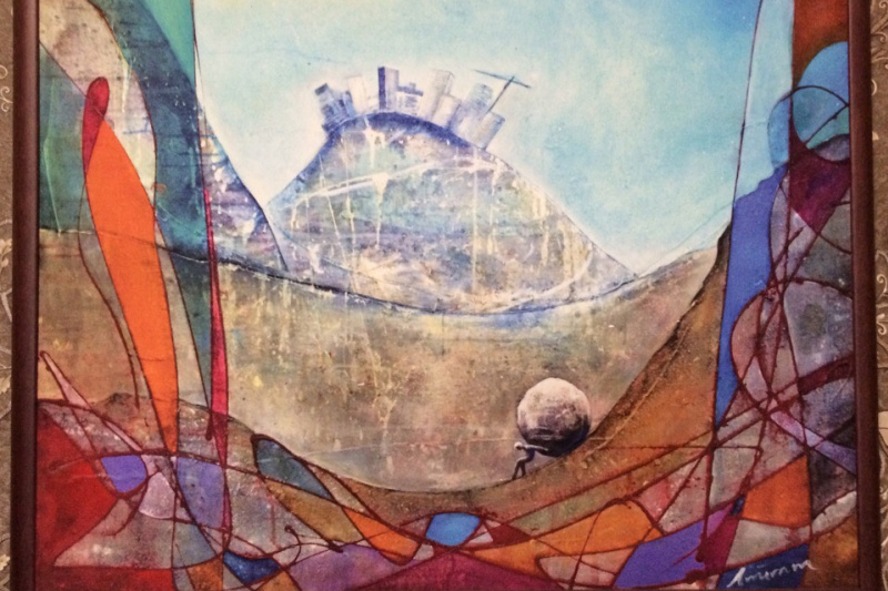 Unknown artist. Sisyphus