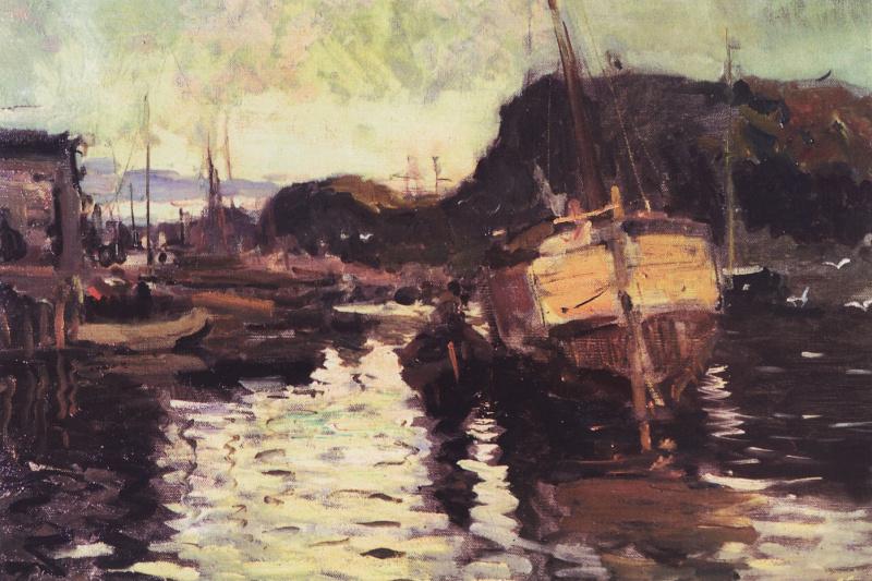 Konstantin Korovin. In The North