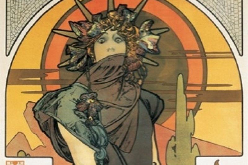 Alphonse Mucha. Medea