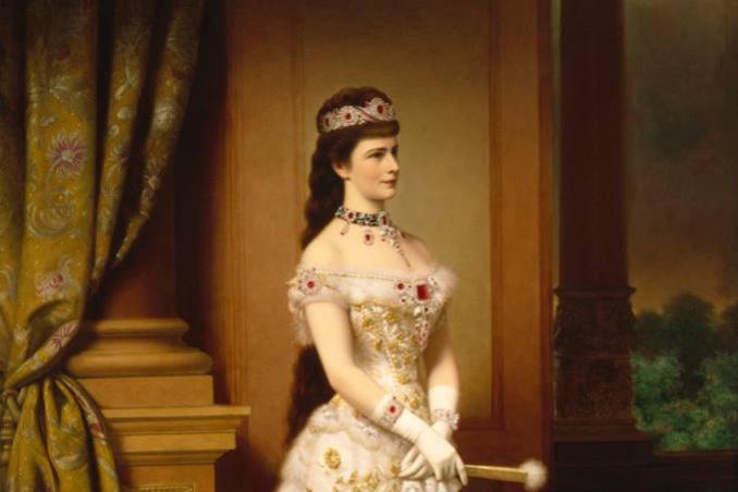 Georg Martin Ignaz Raab. Empress Elizabeth of Austria