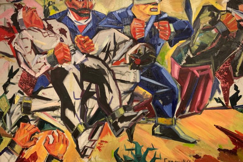 """Иван Стаднюк, 1935гр. В 1952 году окончил художественное училище в Симферополе. Малоизвестный художник советского периода с траг. """"Художники против Минкульта"""""""