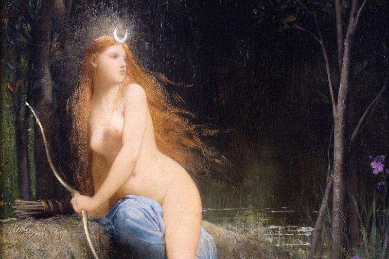 Jules Joseph Lefebvre. Diana. circa 1879