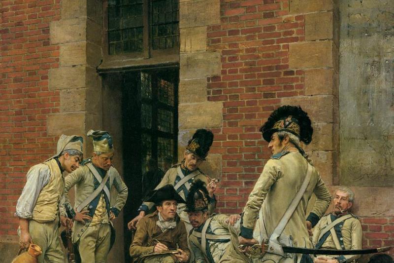Jean Louis Ernest Meissonier. Portrait of sergeant