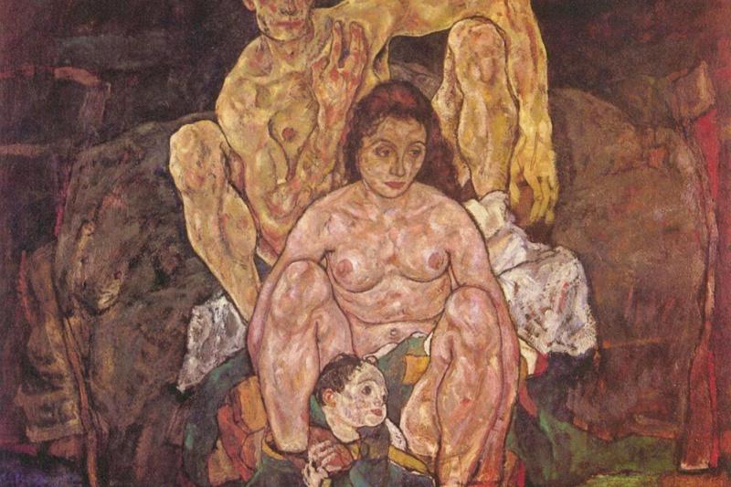Эгон Шиле. Семья