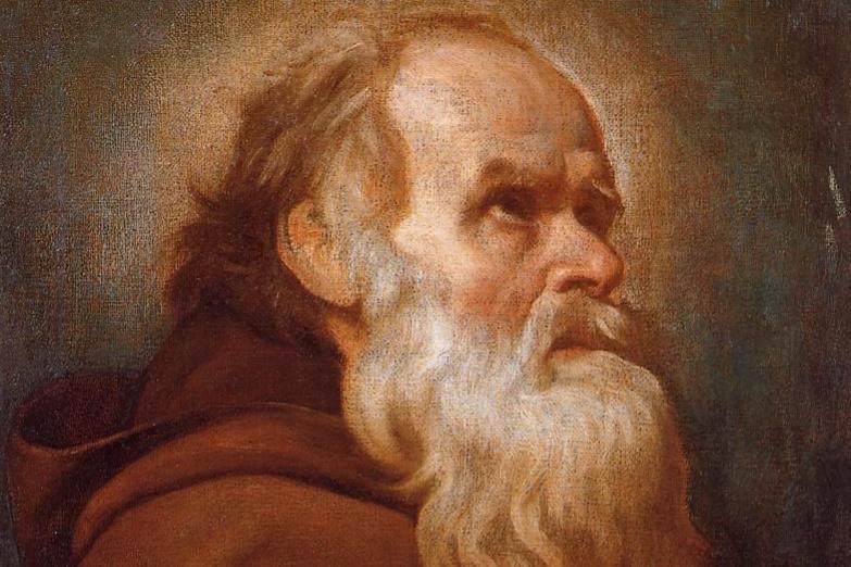 Diego Velazquez. Saint Anthony The Great