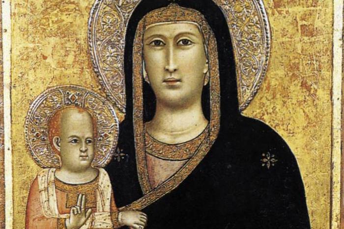 Giotto di Bondone. Madonna and Child