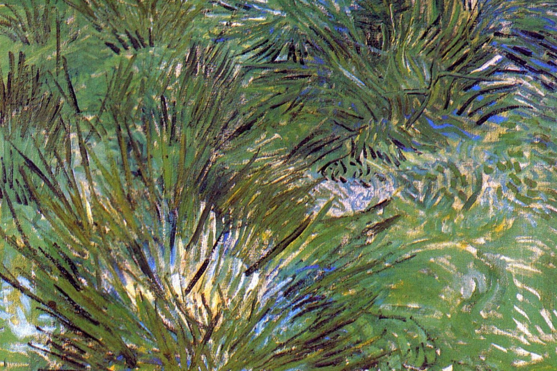 Vincent van Gogh. Tufts of grass