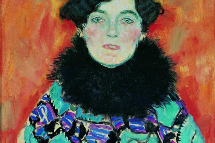 Gustav Klimt. Portrait of Johanna Staude (unfinished)
