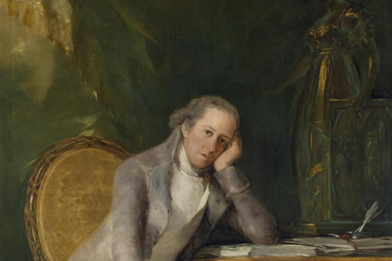 Francisco Goya. Gaspar Melchor de Jovellanos