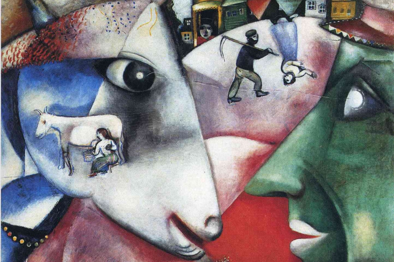 Marc Chagall. I and my village