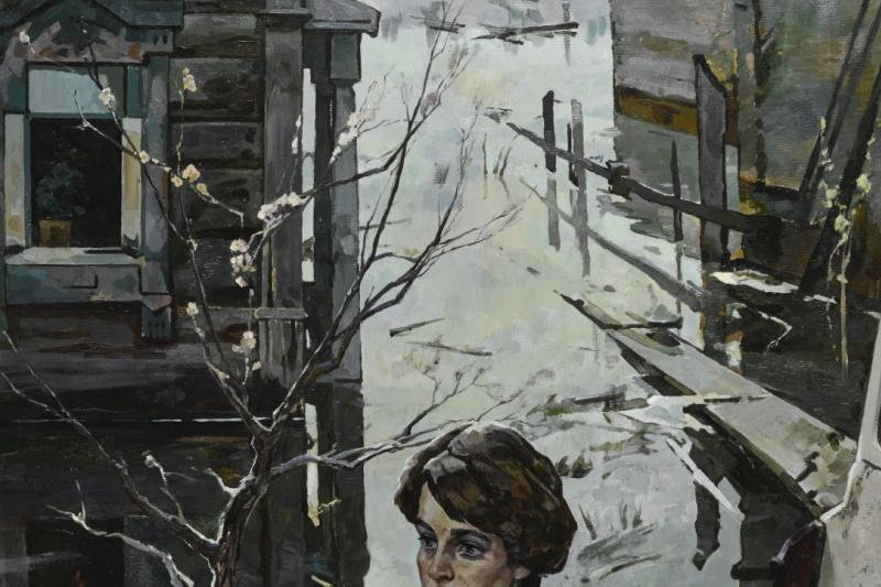 Leonid Vasilyevich Kabachek. Spring