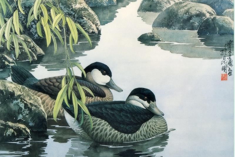 Zeng Xiao Lian. Birds 32