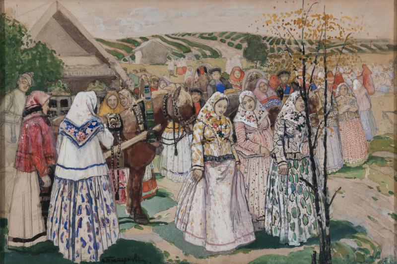 Alexey Nikolayevich Tretyakov. Gulbina.