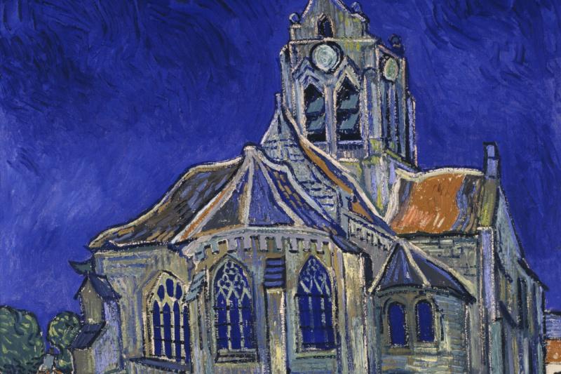Vincent van Gogh. The Church in Auvers-sur-Oise