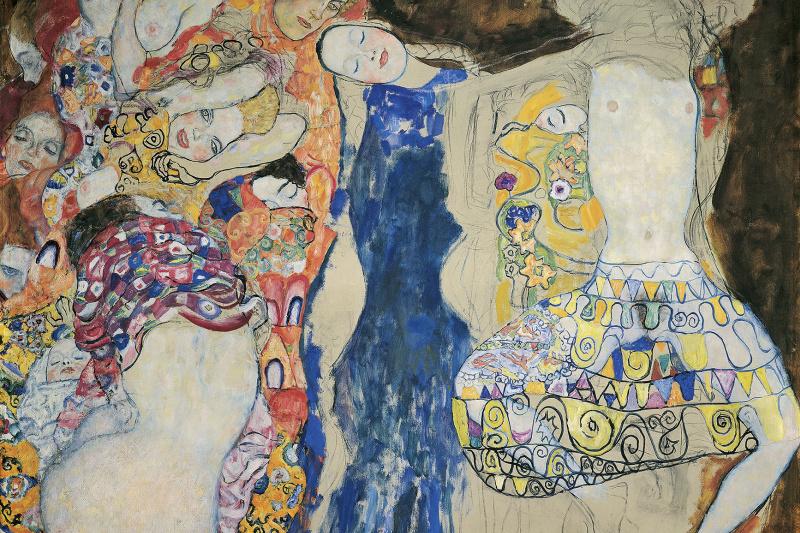 Gustav Klimt. The Bride (unfinished)