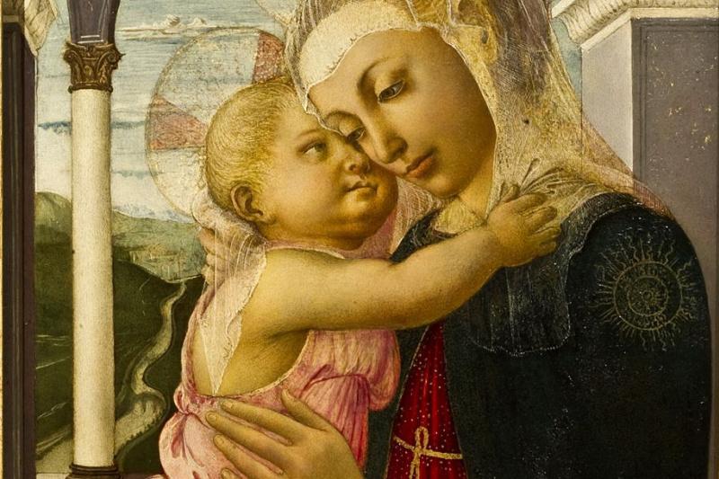 Sandro Botticelli. Madonna della Loggia