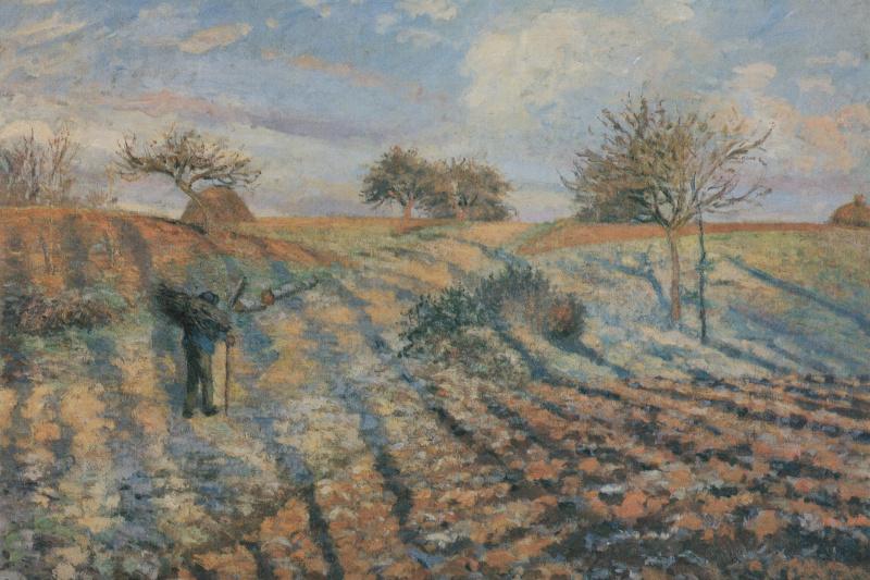 Camille Pissarro. Hoarfrost