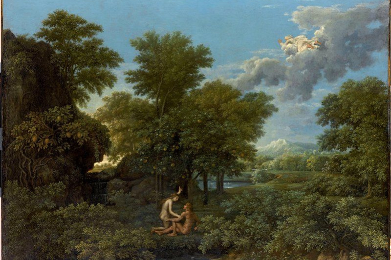"""Nicola Poussin. Spring from the """"seasons"""""""