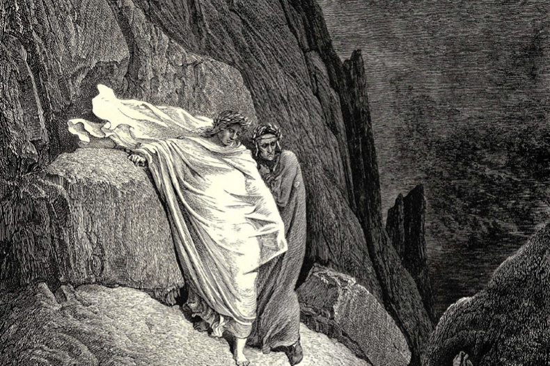 Paul Gustave Dore. It was this prostitute who answered the words of her lover