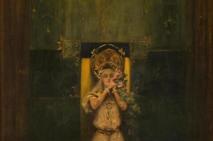 Alfons Mucha. Flora