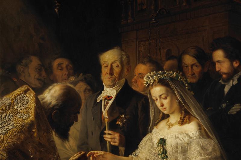 Vasily Vladimirovich Pukirev. The unequal marriage