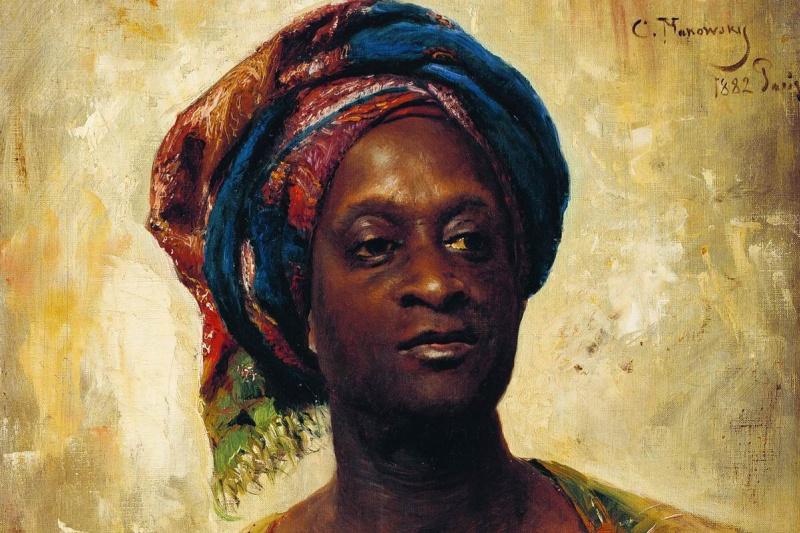 Konstantin Makovsky. Arab in a turban