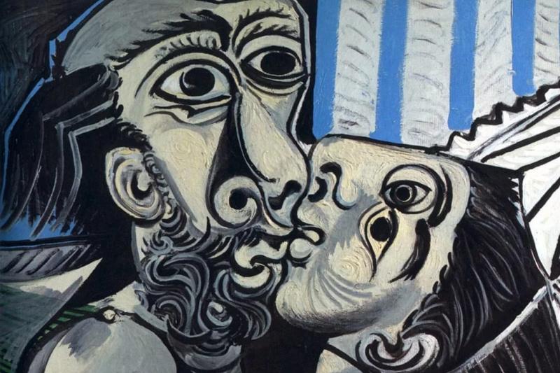 Pablo Picasso. Kiss