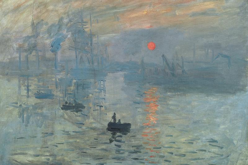 Claude Monet. Impression. Sunrise