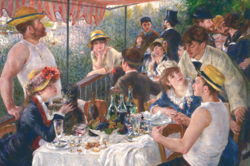 Pierre-Auguste Renoir. Luncheon of the boating party