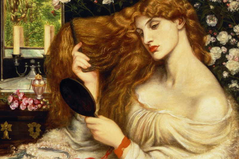 Dante Gabriel Rossetti. Lady Lilith