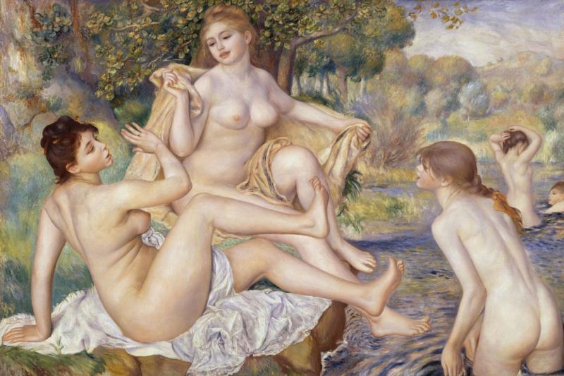 Pierre-Auguste Renoir. Large bathers