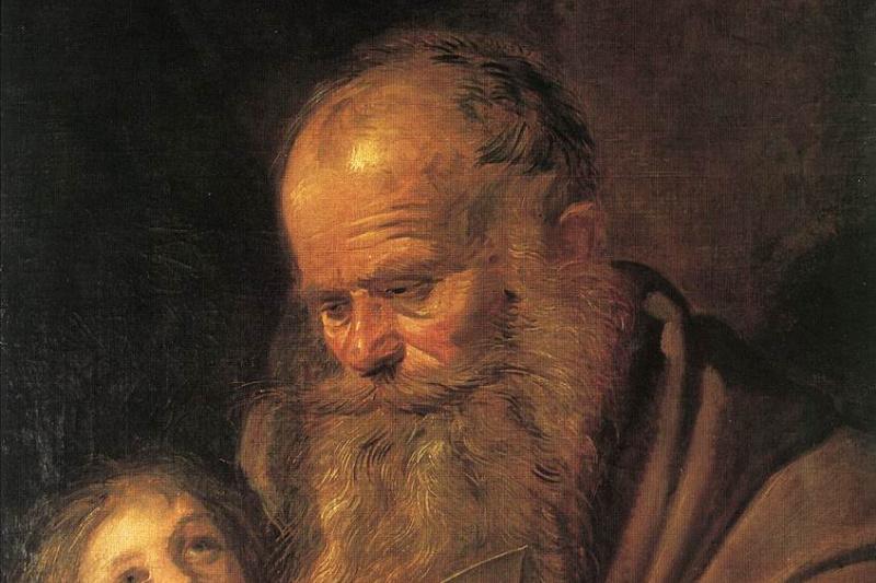 France Hals. Saint Matthew