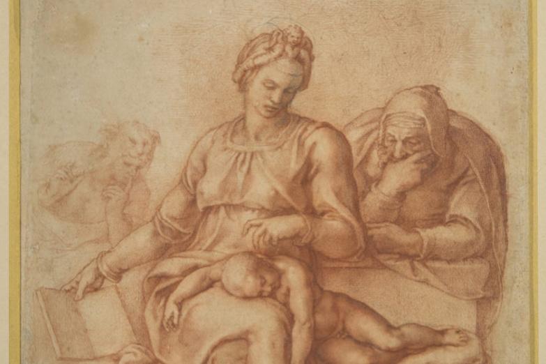 Michelangelo Buonarroti. Madonna del Silenzio