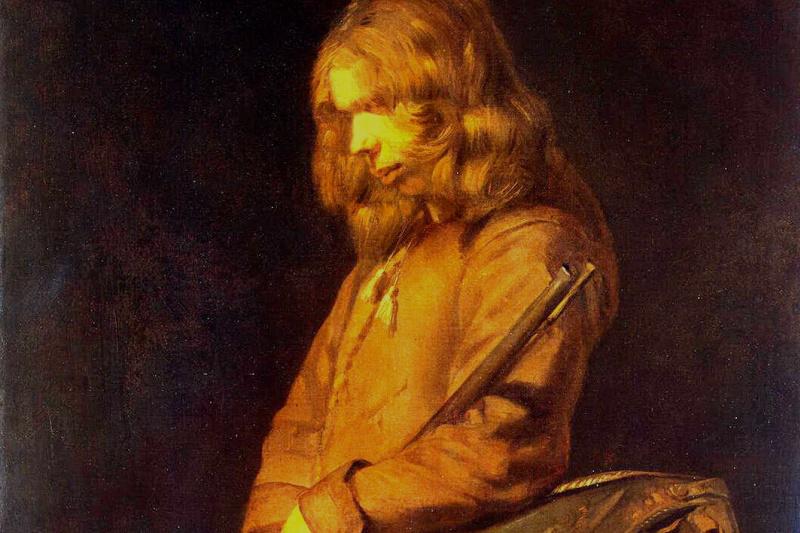 Frans Hals Junior. A young soldier