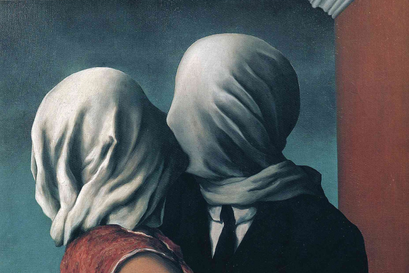 René Magritte. Lovers